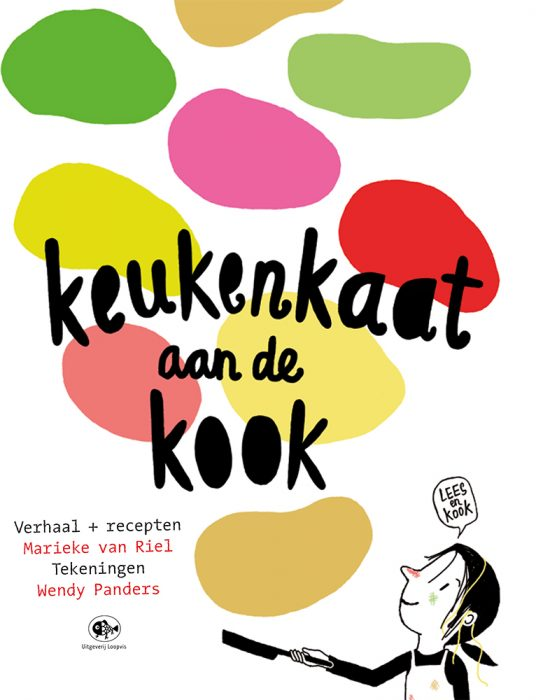 keukenkaat kinderkookboek marieke van riel loopvis