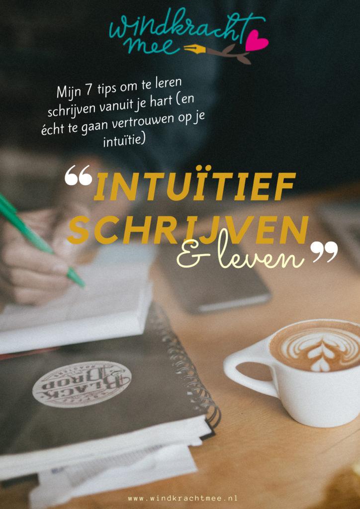 Kopie van Intuïtief schrijven & leven